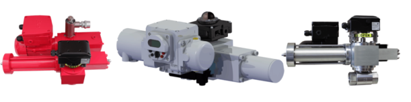 Elektrohydraulische Stellantriebe von KTC Systemtechnik für Industriearmaturen, Ventilantriebe, SAV Antriebe,