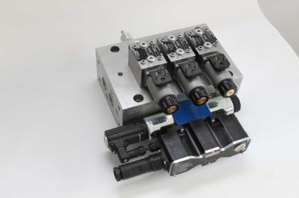 2 von 3 Schaltung für hydraulische Anwedungen, 2 von 3 Sicherheitsschaltung