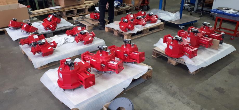 Hydraulische Stellantriebe für die Prozessautomation
